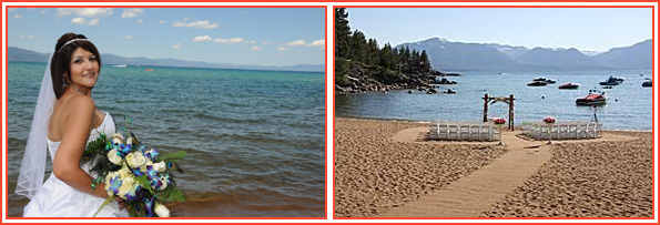 Round Hill Pines Beach Wedding Tahoe