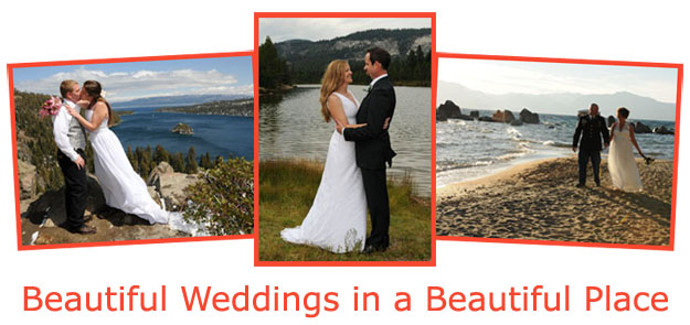 Beautiful wedding locations in Lake Tahoe