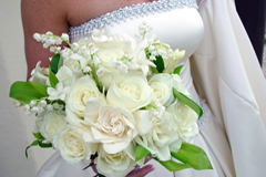 Example bridal bouquet