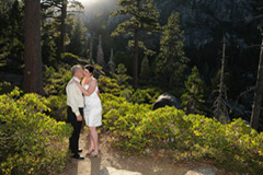 Emerald Bay is a fantastic wedding site located in Northern California